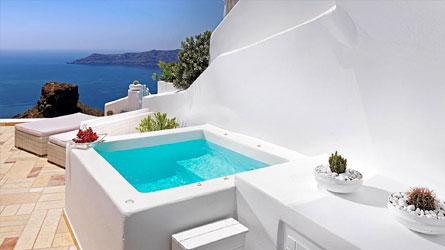 Senior Suite with Caldera View & Private Outdoor Jacuzzi
